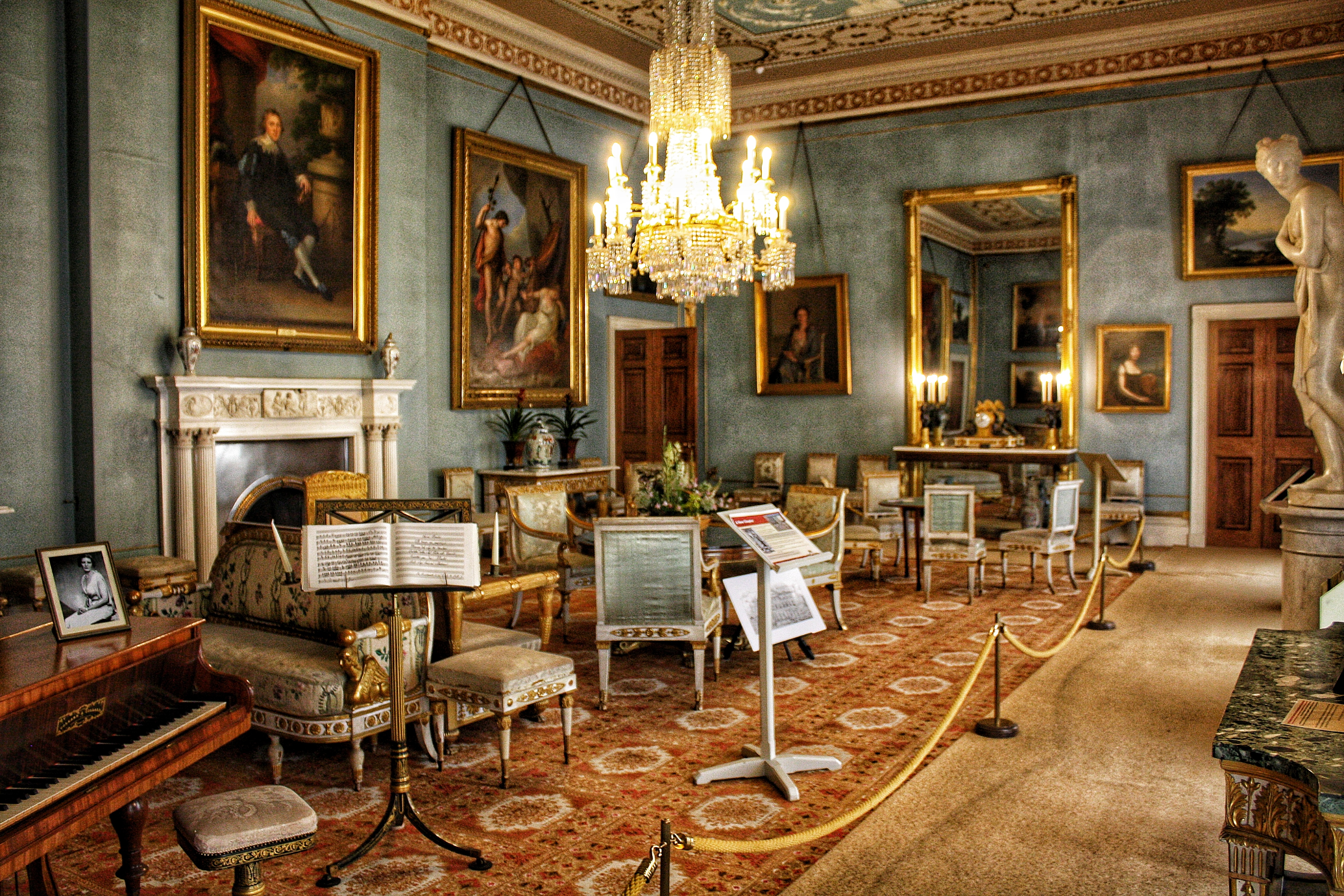 Attingham – A House with a Split Personality