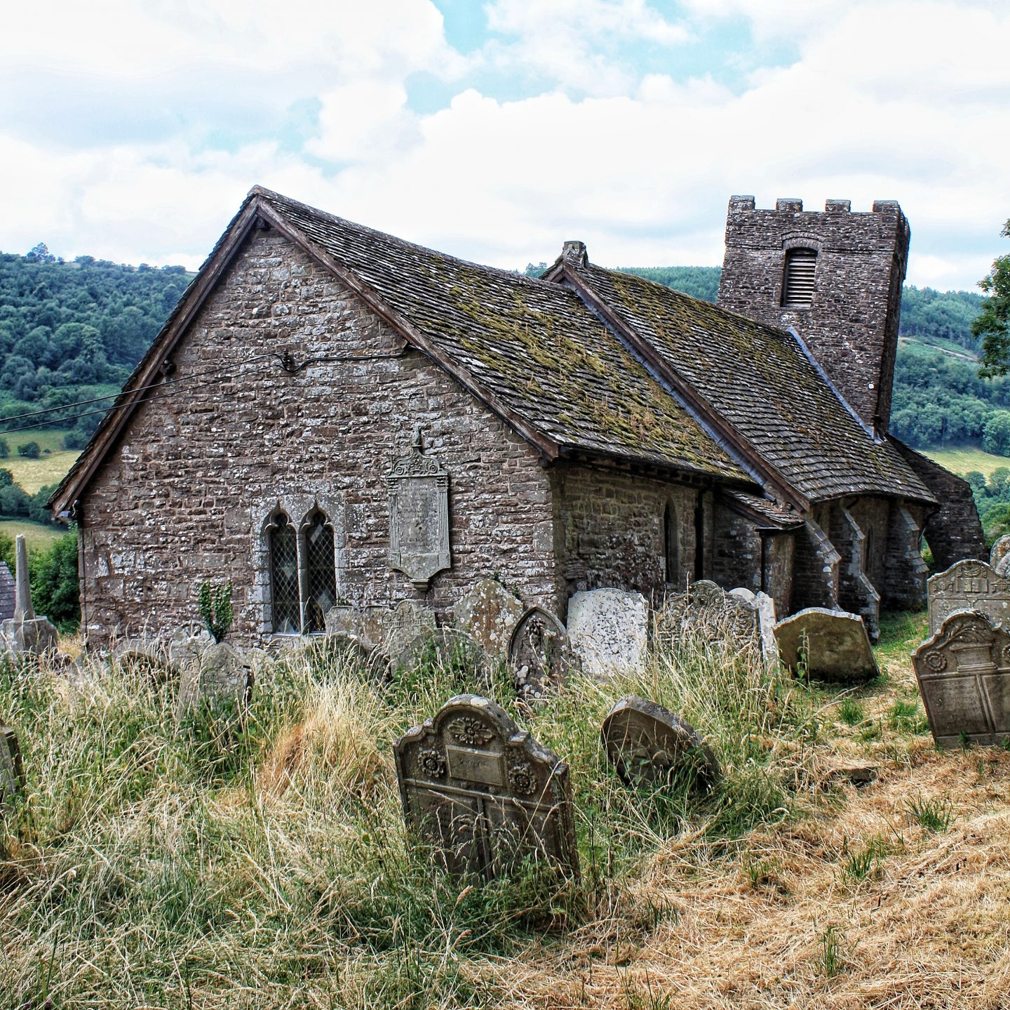 The Crooked Church – St Martin's Church, Cwmyoy