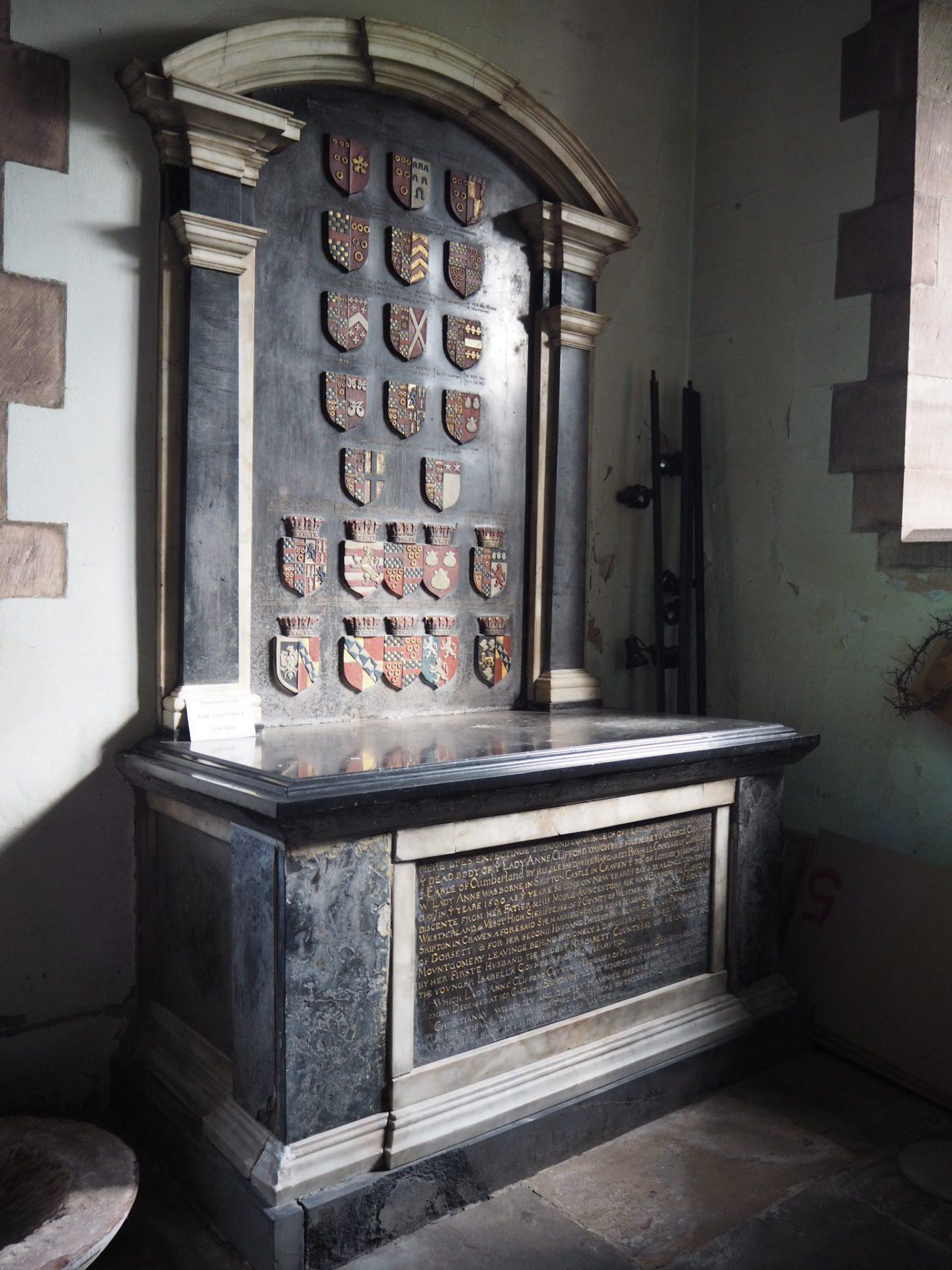 Lady Anne Clifford memorial