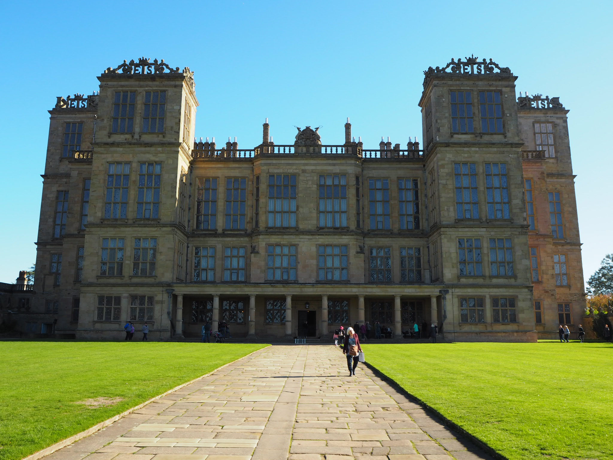 Hardwick Hall exterior