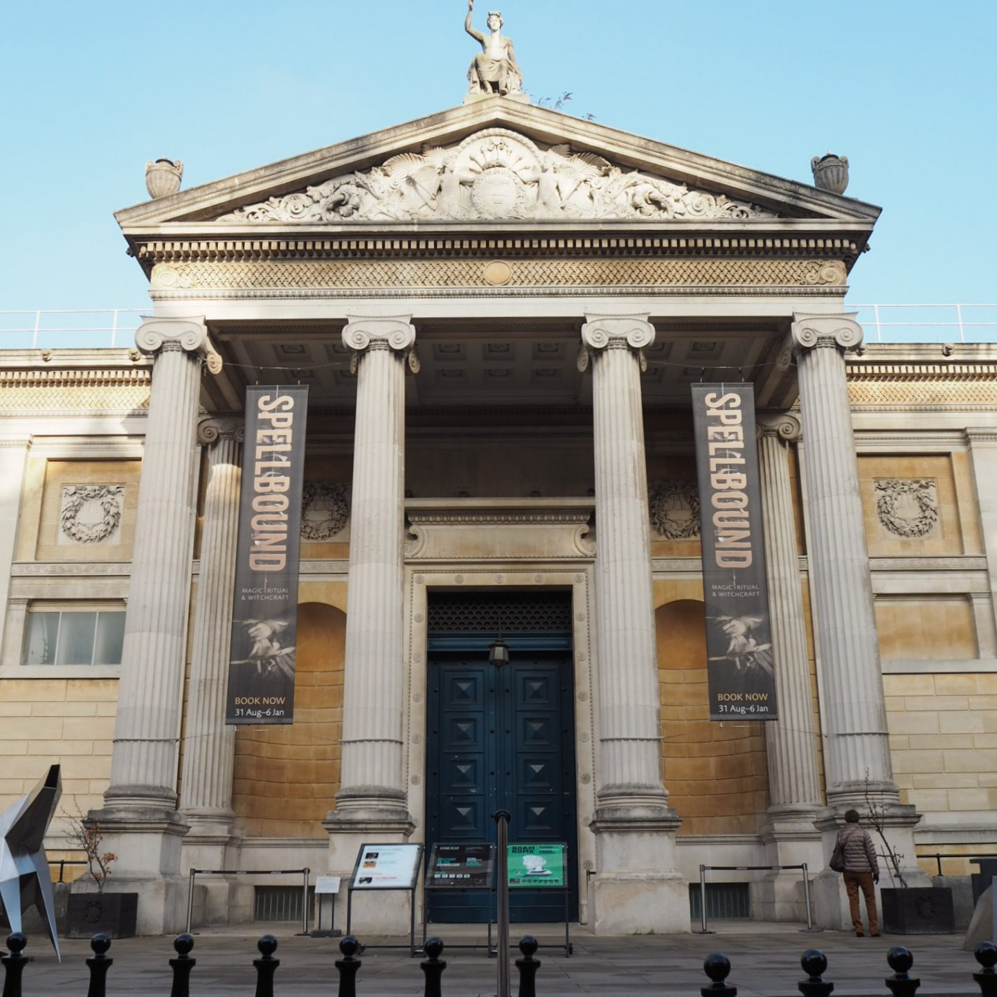 24 hours in Oxford - Ashmolean Museum