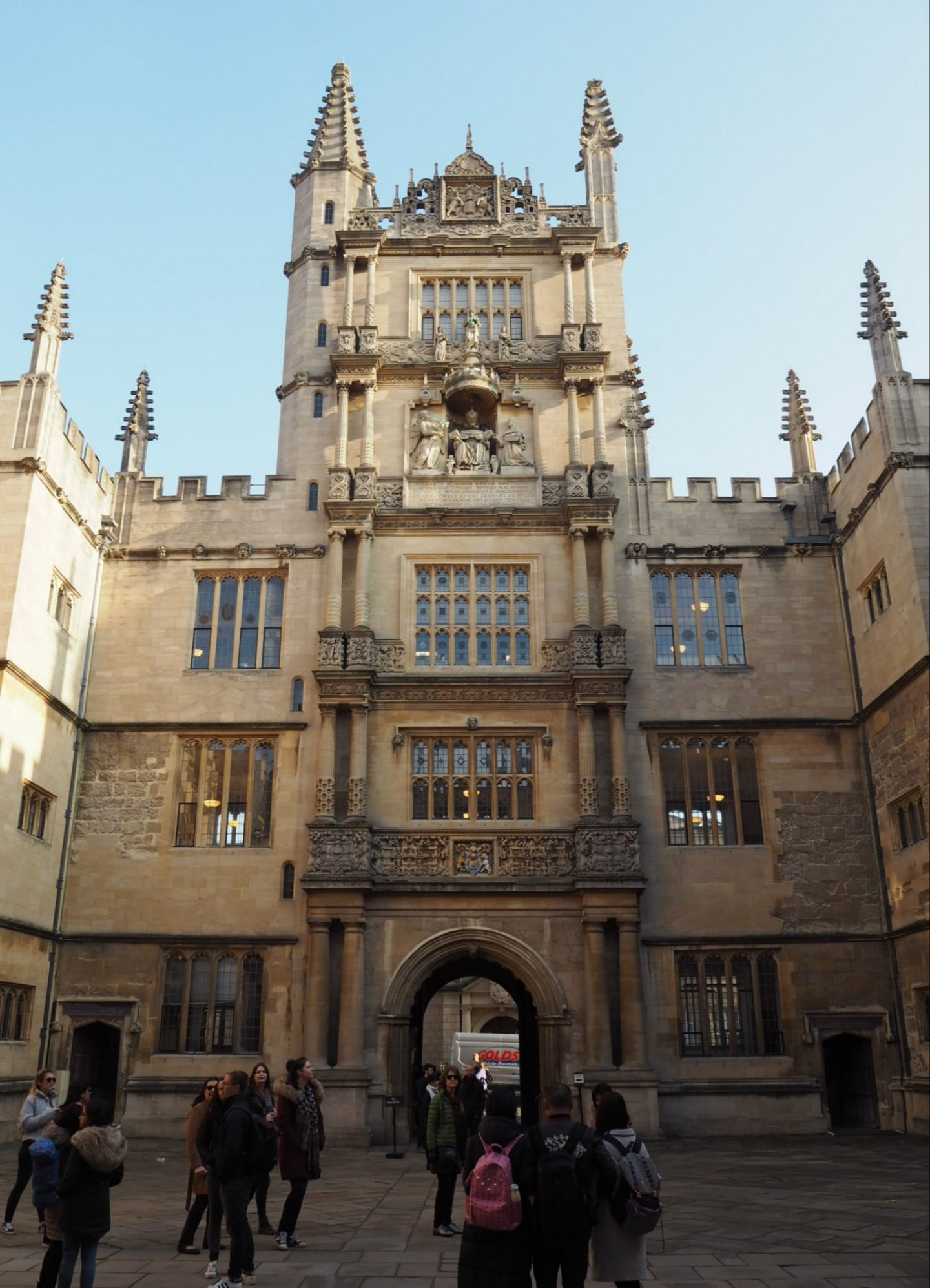 24 hours in Oxford - Bodelian Library