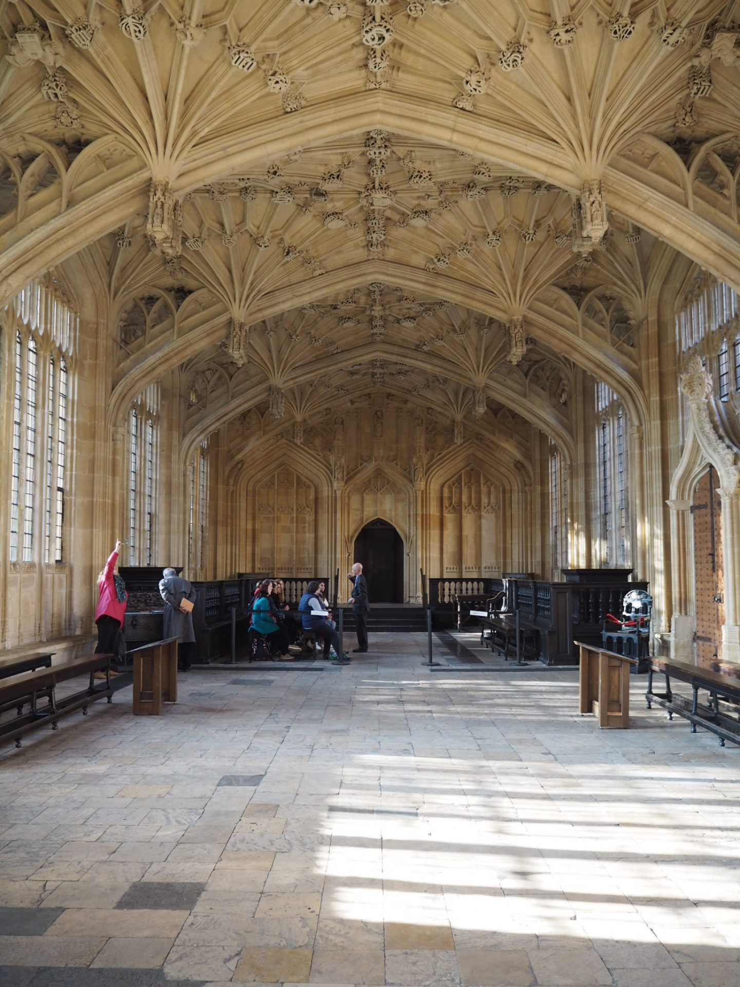 Oxford day trip - Divinity School