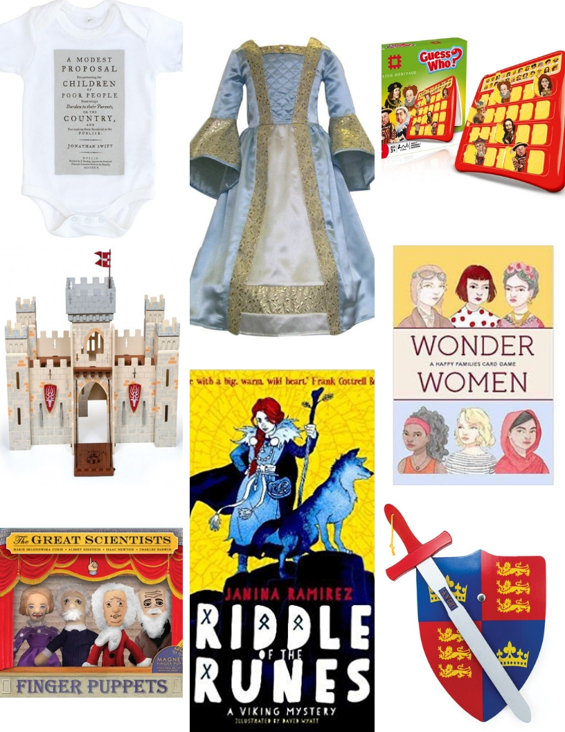 kids historical christmas gift guide