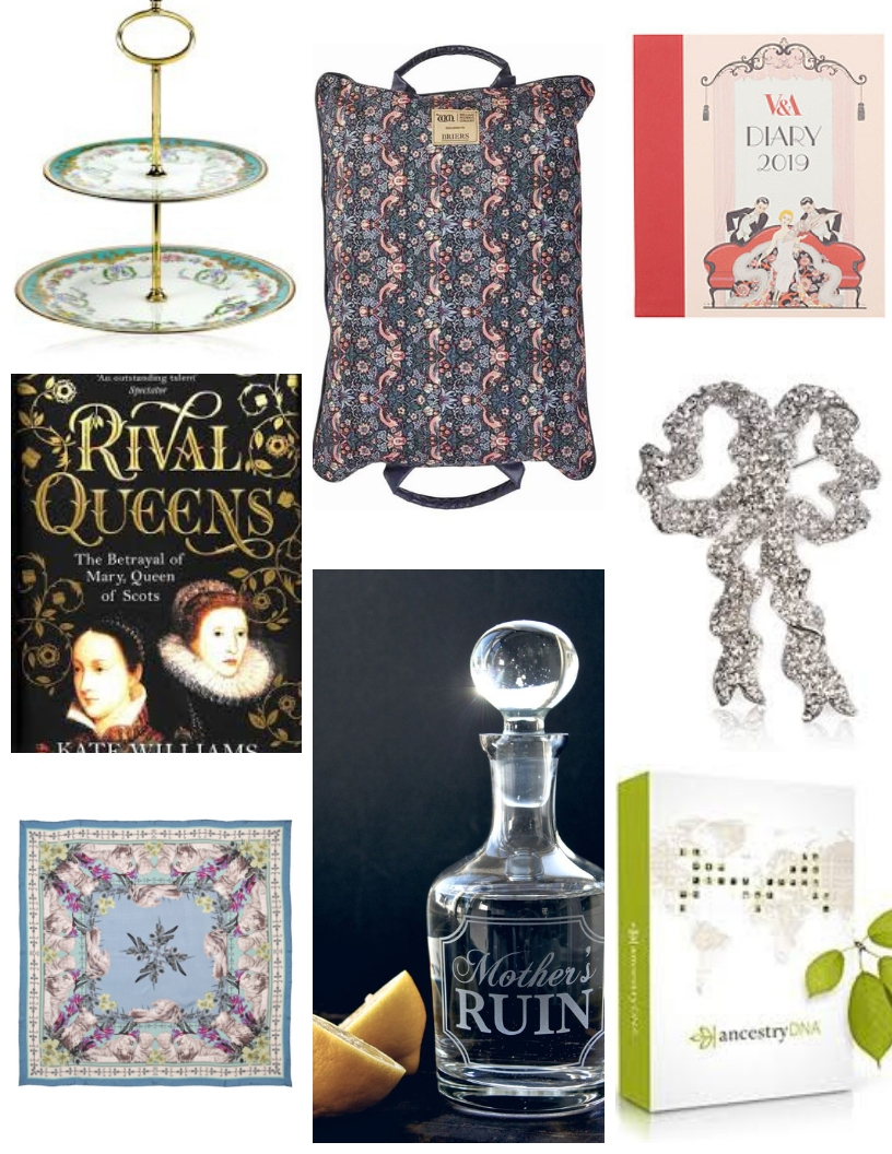 historical christmas gift guide