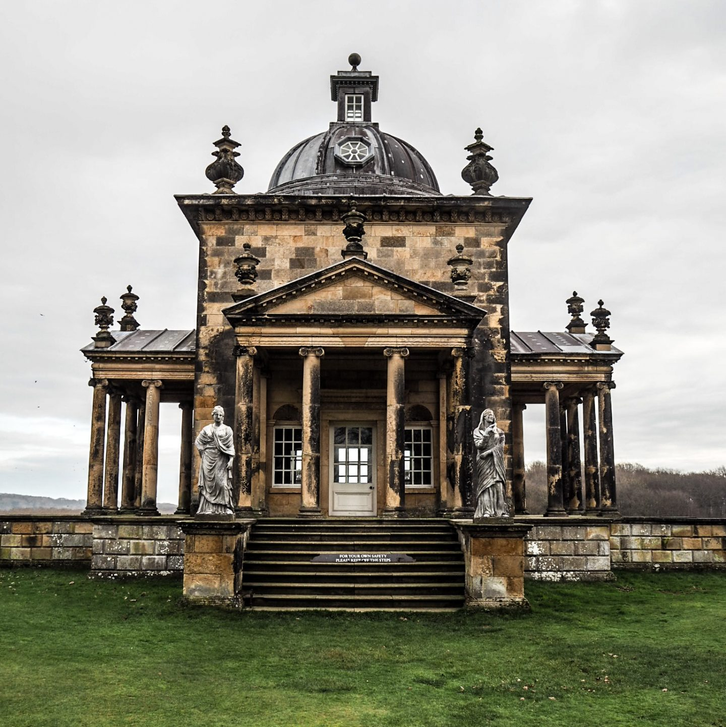 christmas at castle howard temple of the four winds