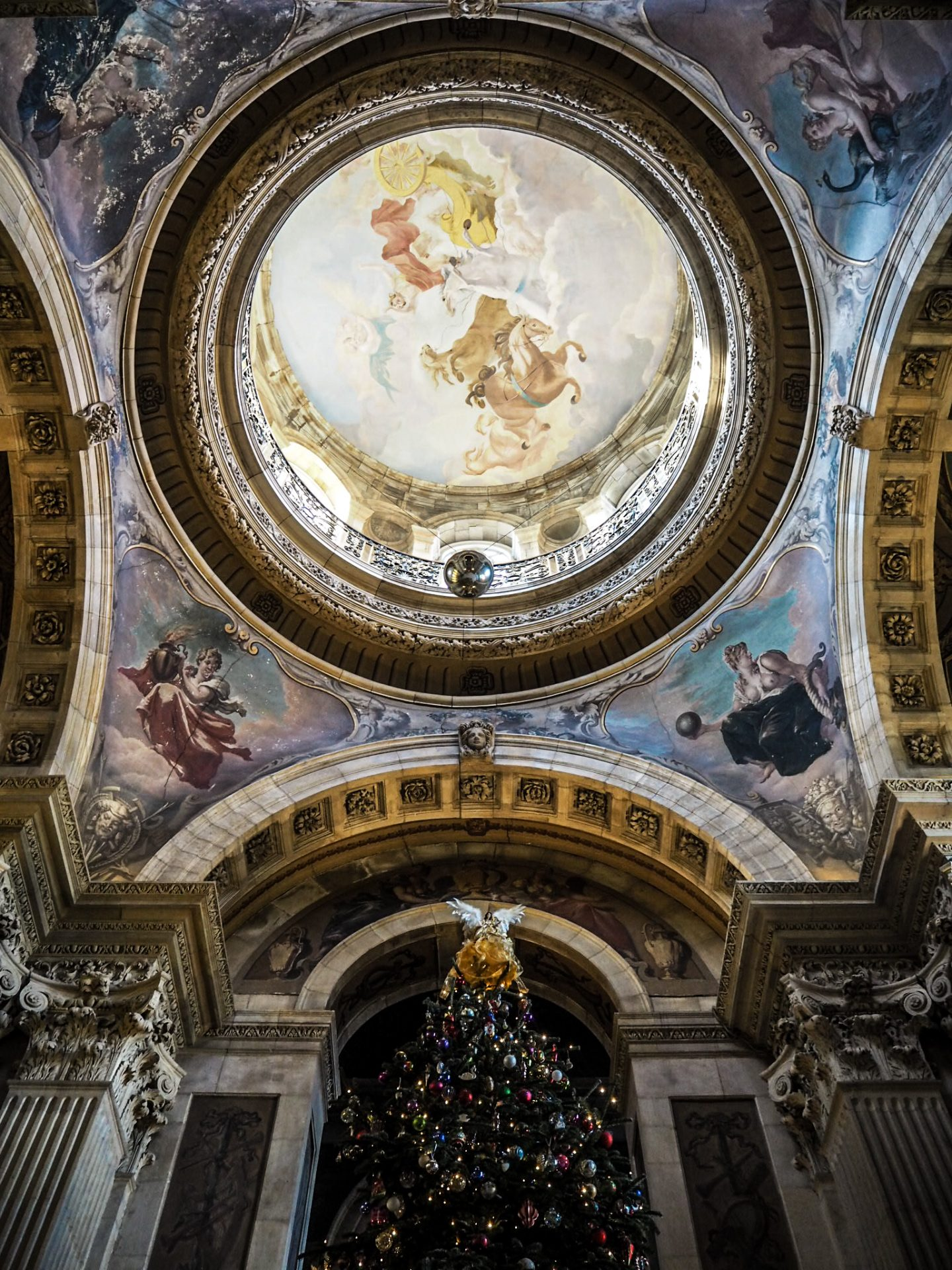 christmas at castle howard grand hall