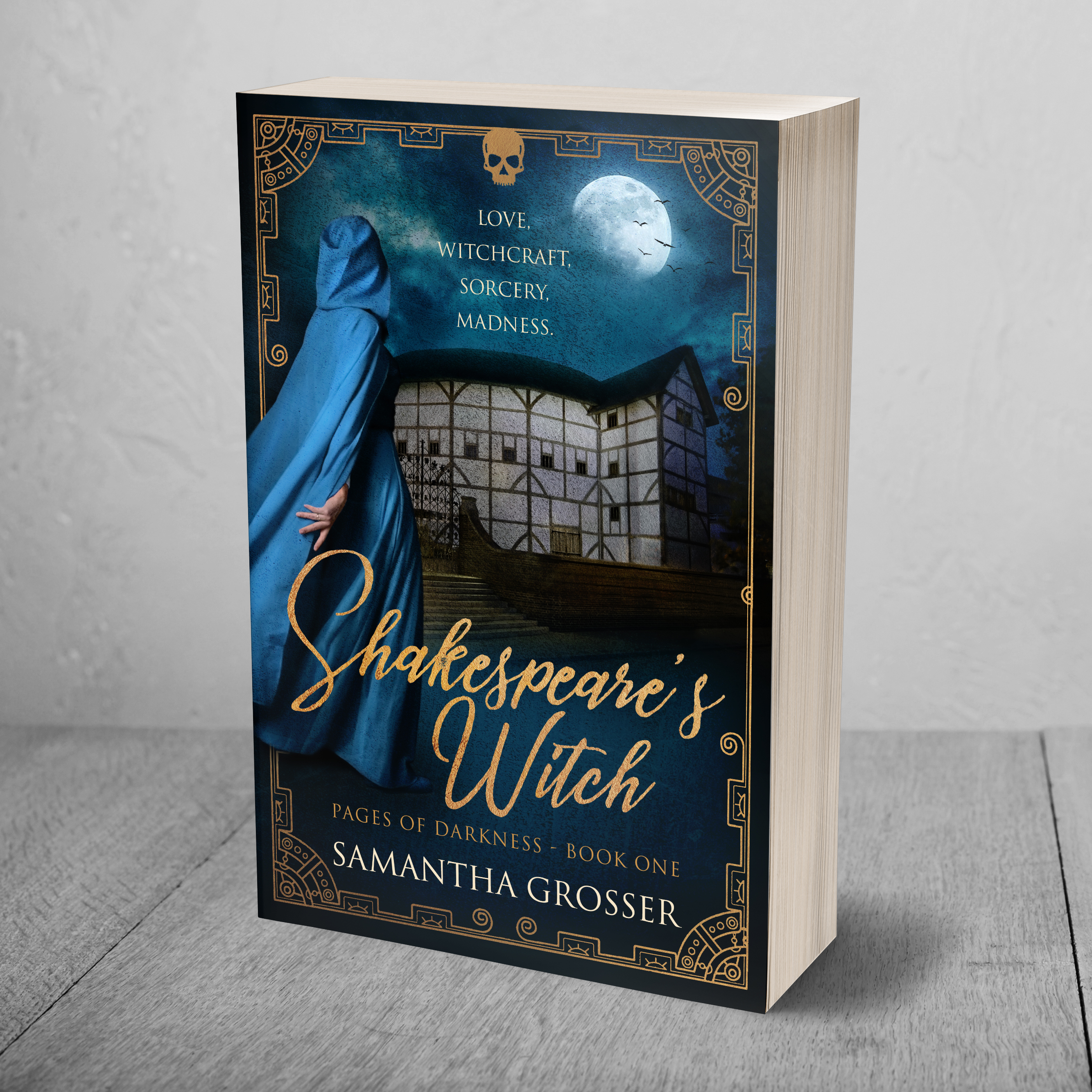 Cover Reveal – Shakespeare's Witch by Samantha Grosser