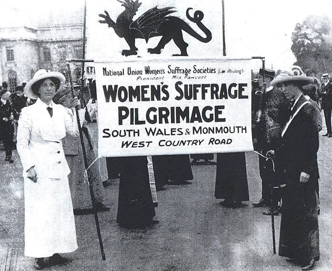 welsh suffragettes