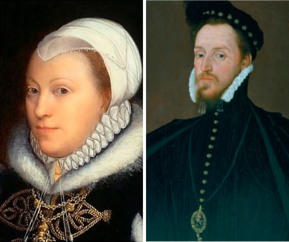 Catherine and Henry Carey