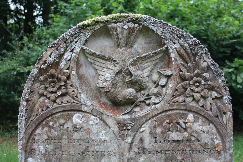 Headstone St Annos Church Llananno