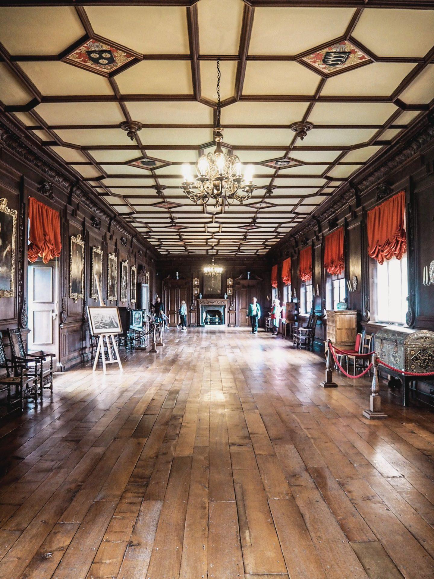 Chirk Castle - Long Gallery