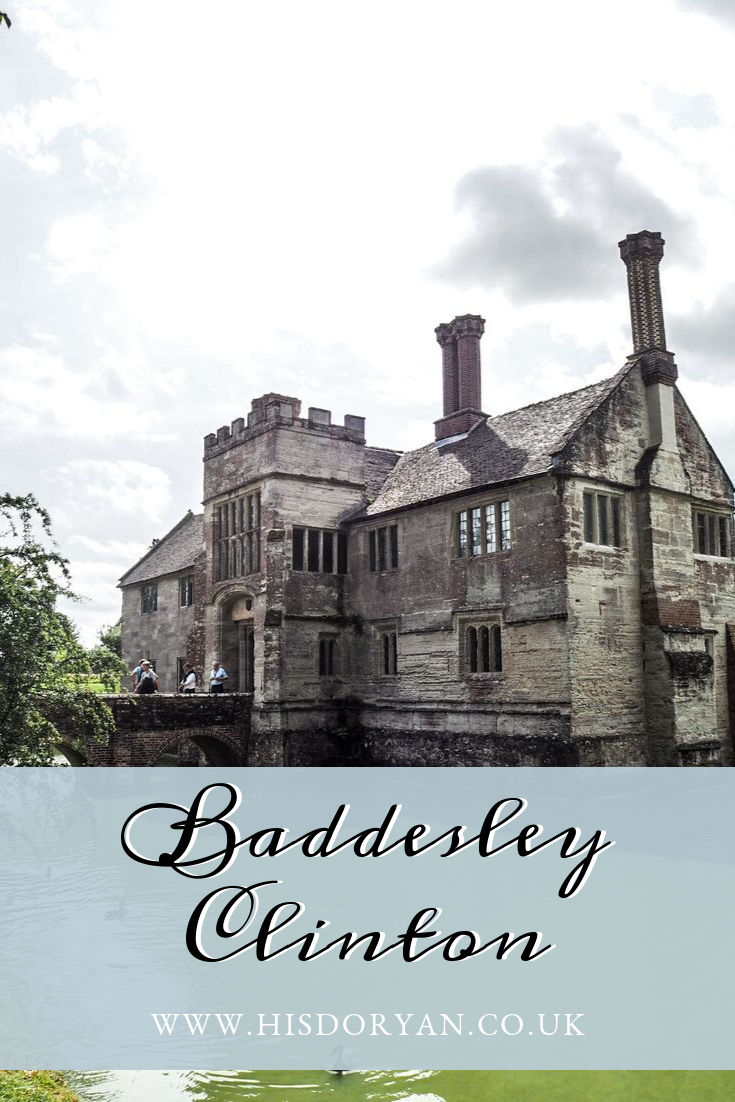 Baddesley Clinton Pinterest Cover