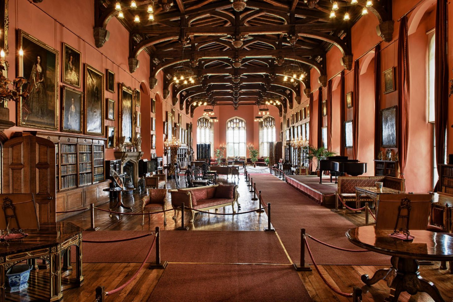 raby castle barons hall