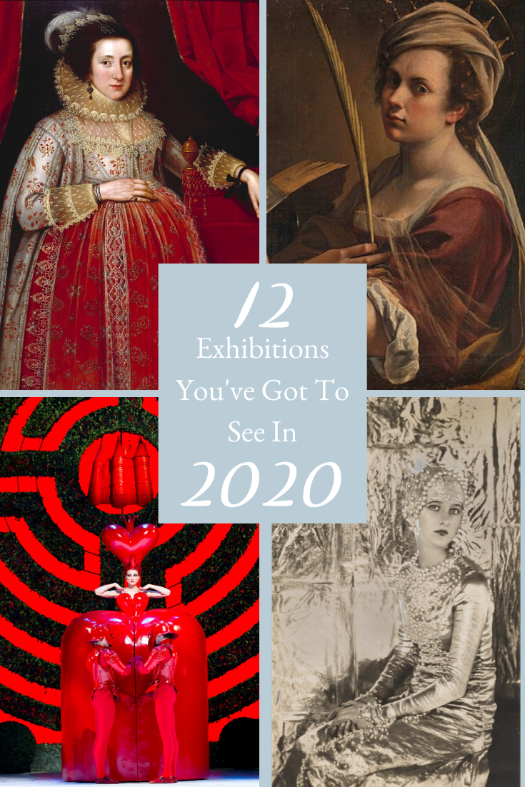 Exhibitions 2020 Pinterest Cover