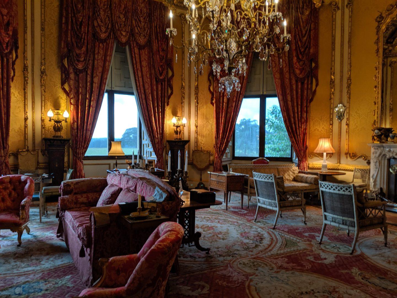 raby castle interior