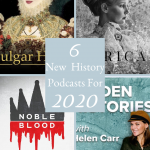 Pinterest History Podcasts 2020 cover