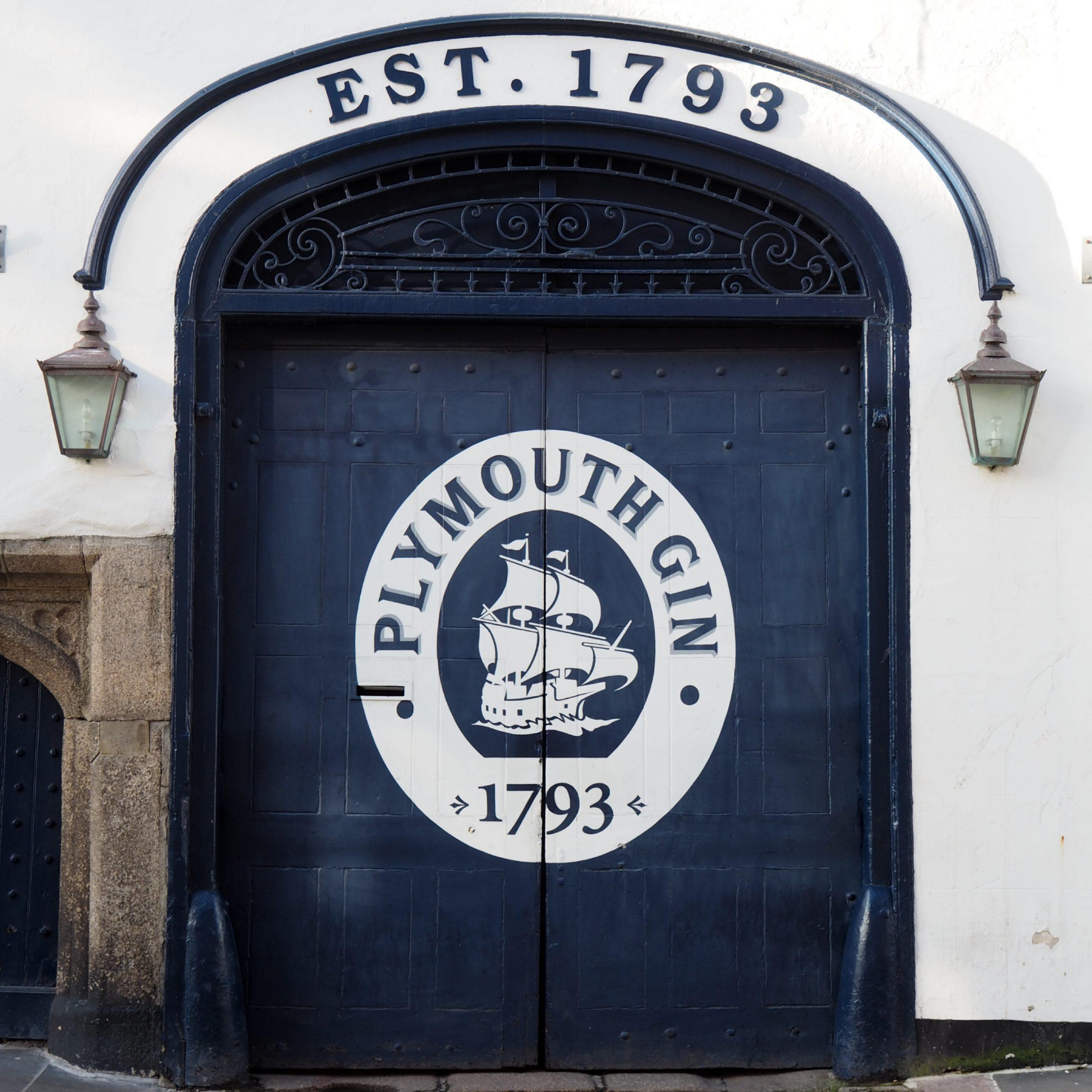 plymouth gin exterior
