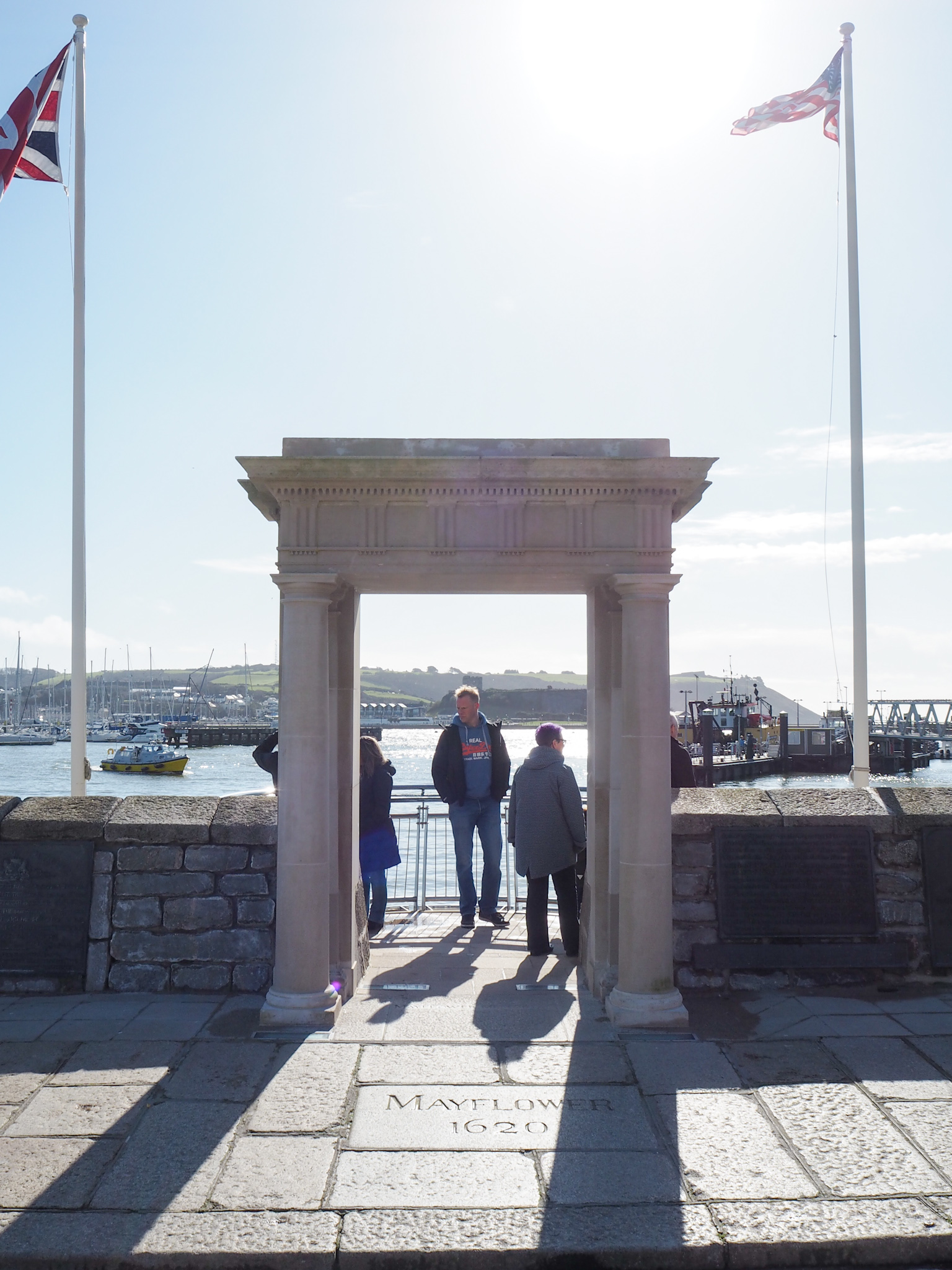 Mayflower Steps