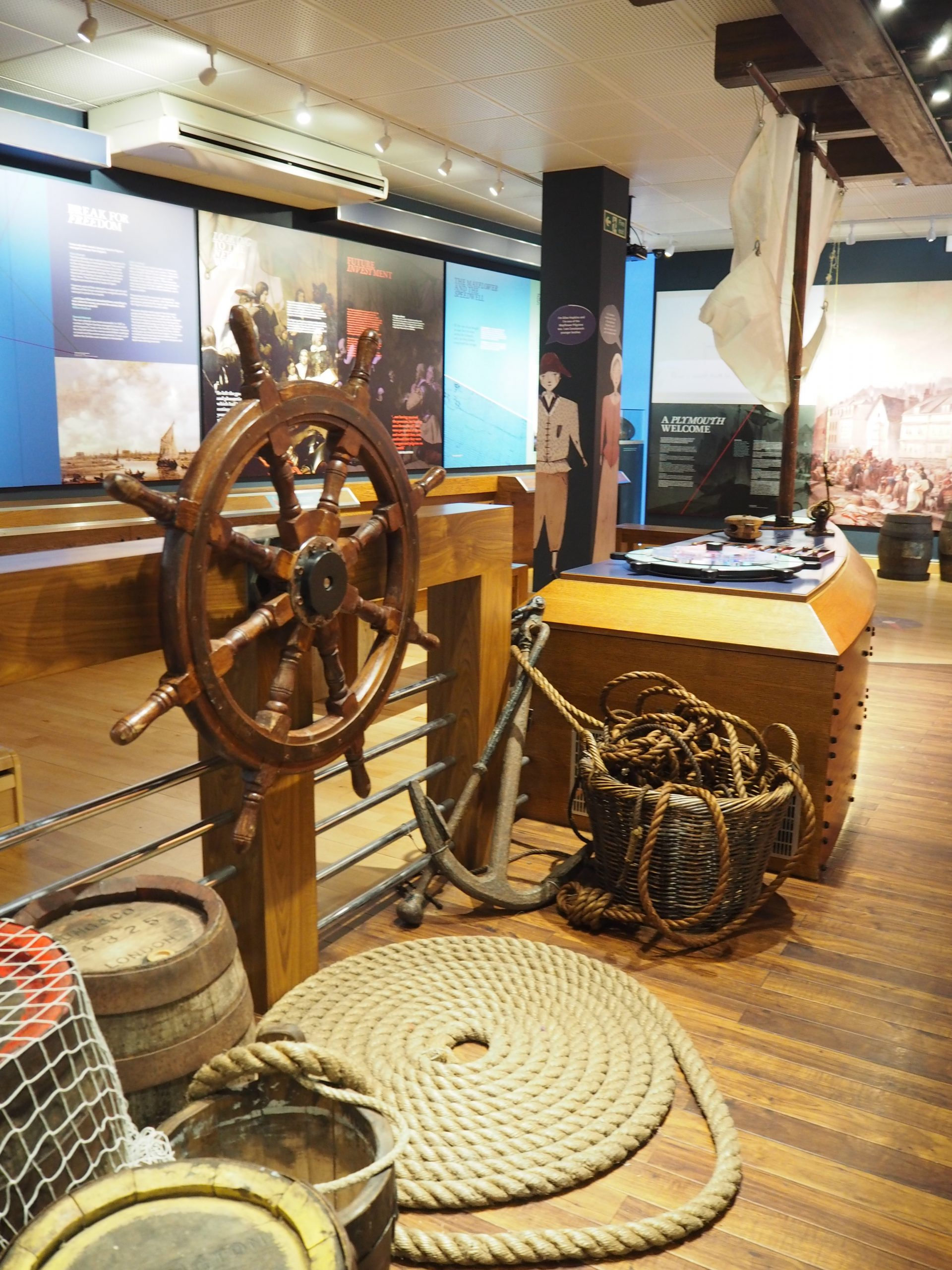 Mayflower Museum interior