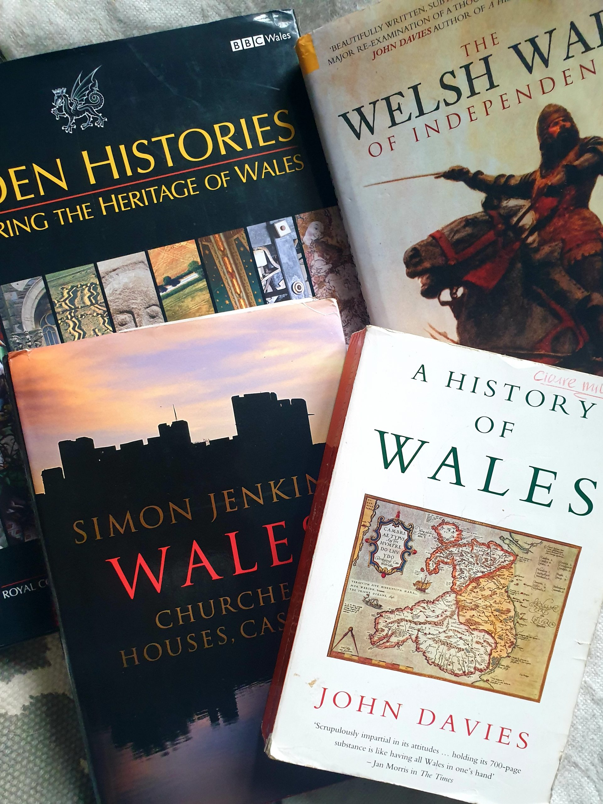 Welsh history books