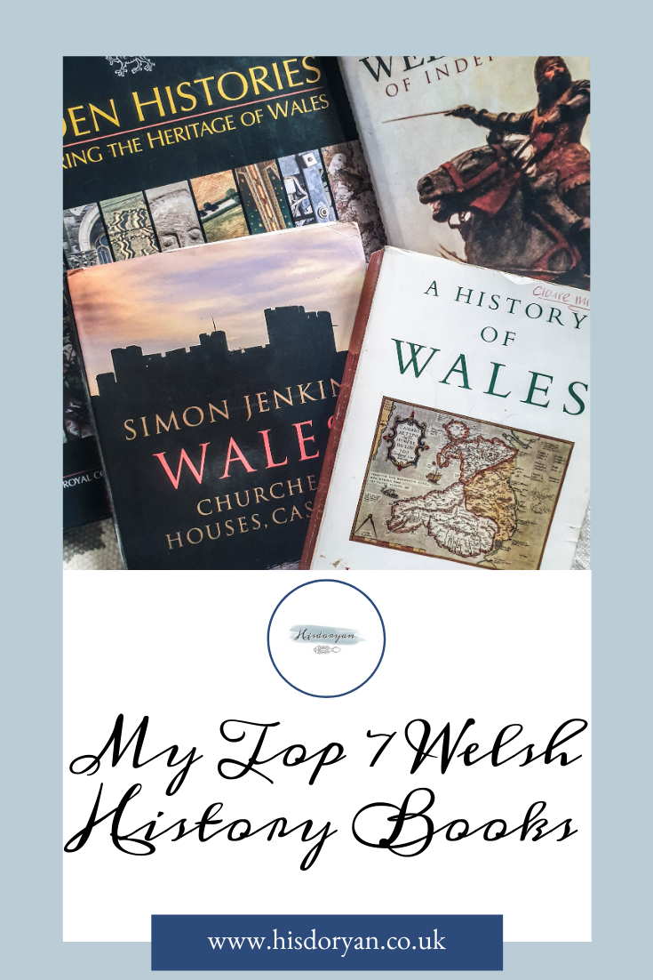 Welsh History Books Pinterest Cover