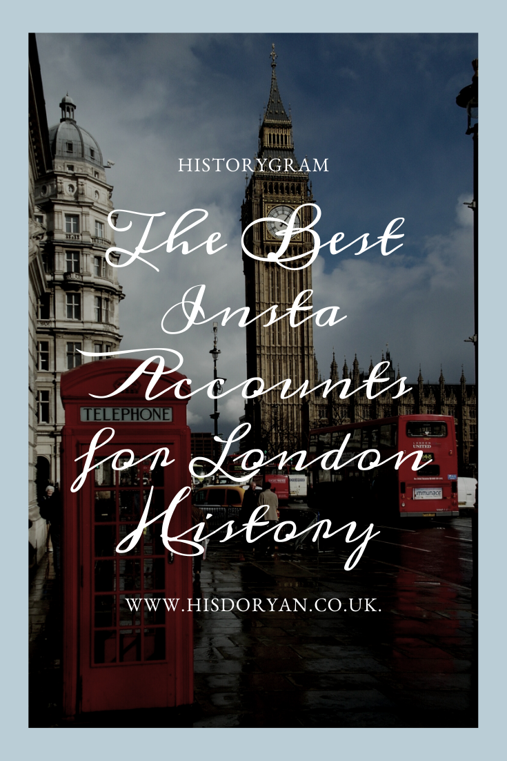 London History Instagram Cover