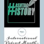 Hashtag History Podcast Pinterest Cover