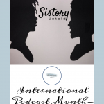 Sistory Untold Podcast Pinterest Cover