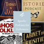 Spooky Podcasts Pinterest Cover