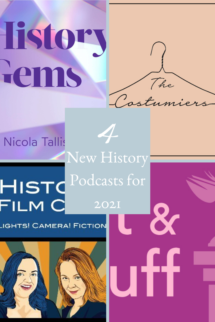 New History Podcasts 2021 Pinterest Cover