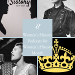 Womens History Month Podcasts Pinterest Cover