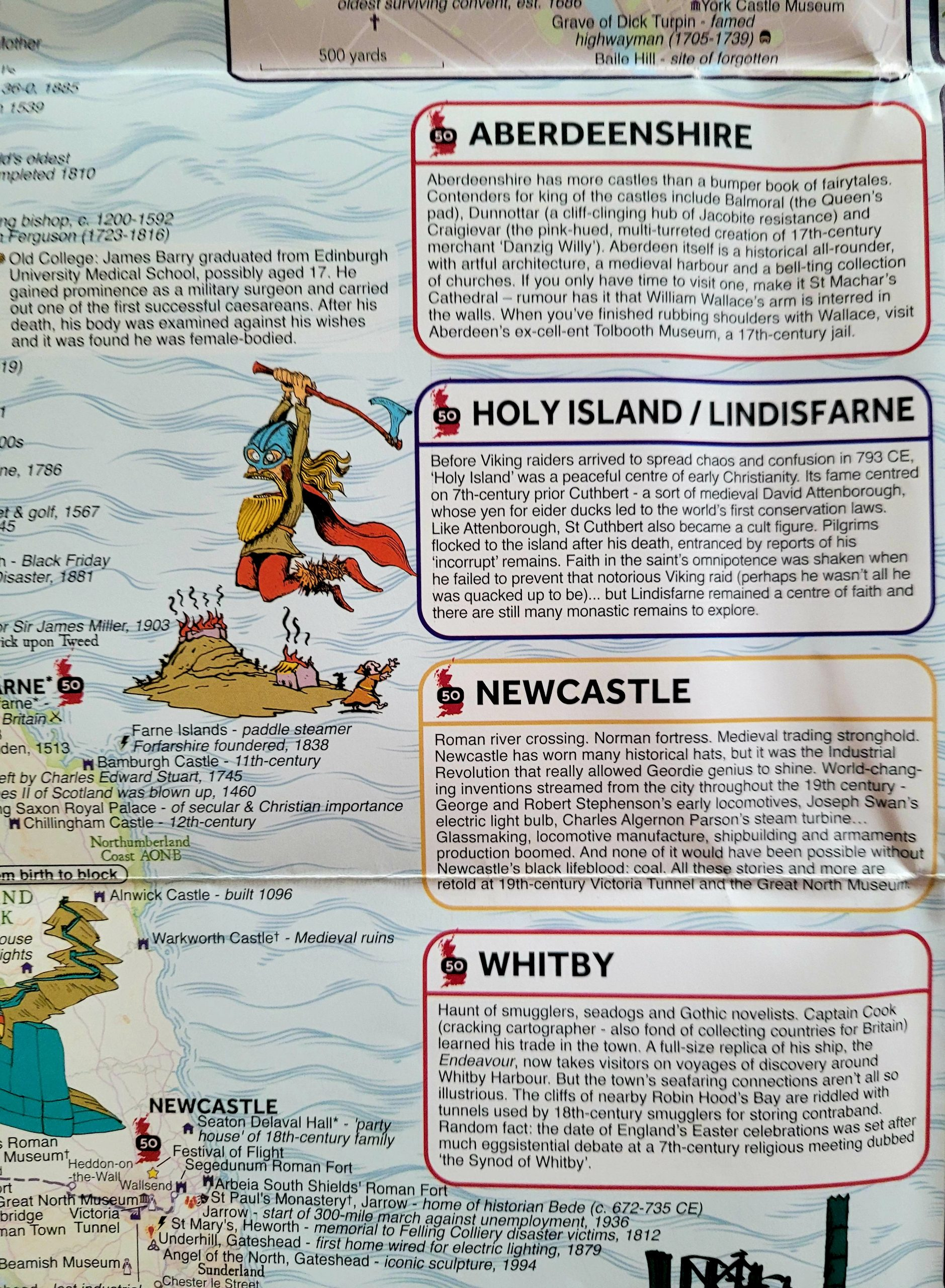 Great British Map Detail