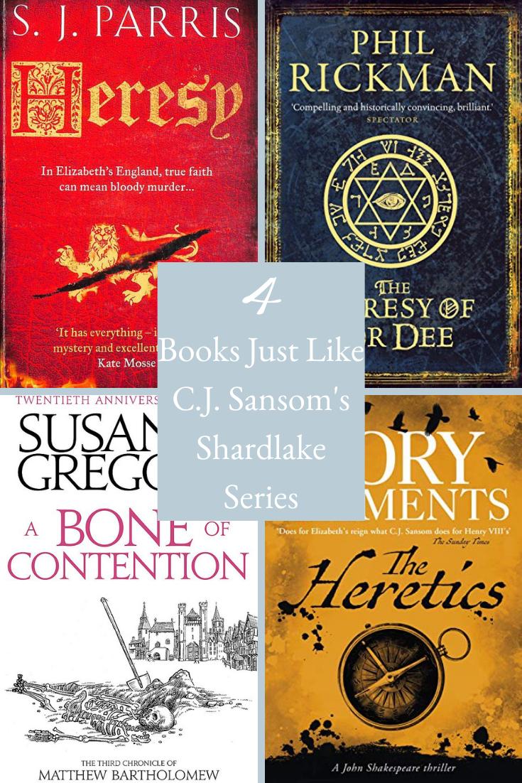 interest Cover Books Like The Shardlake Series