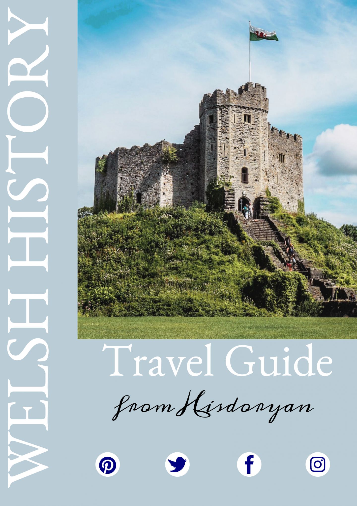 Welsh History Travel Guide Cover