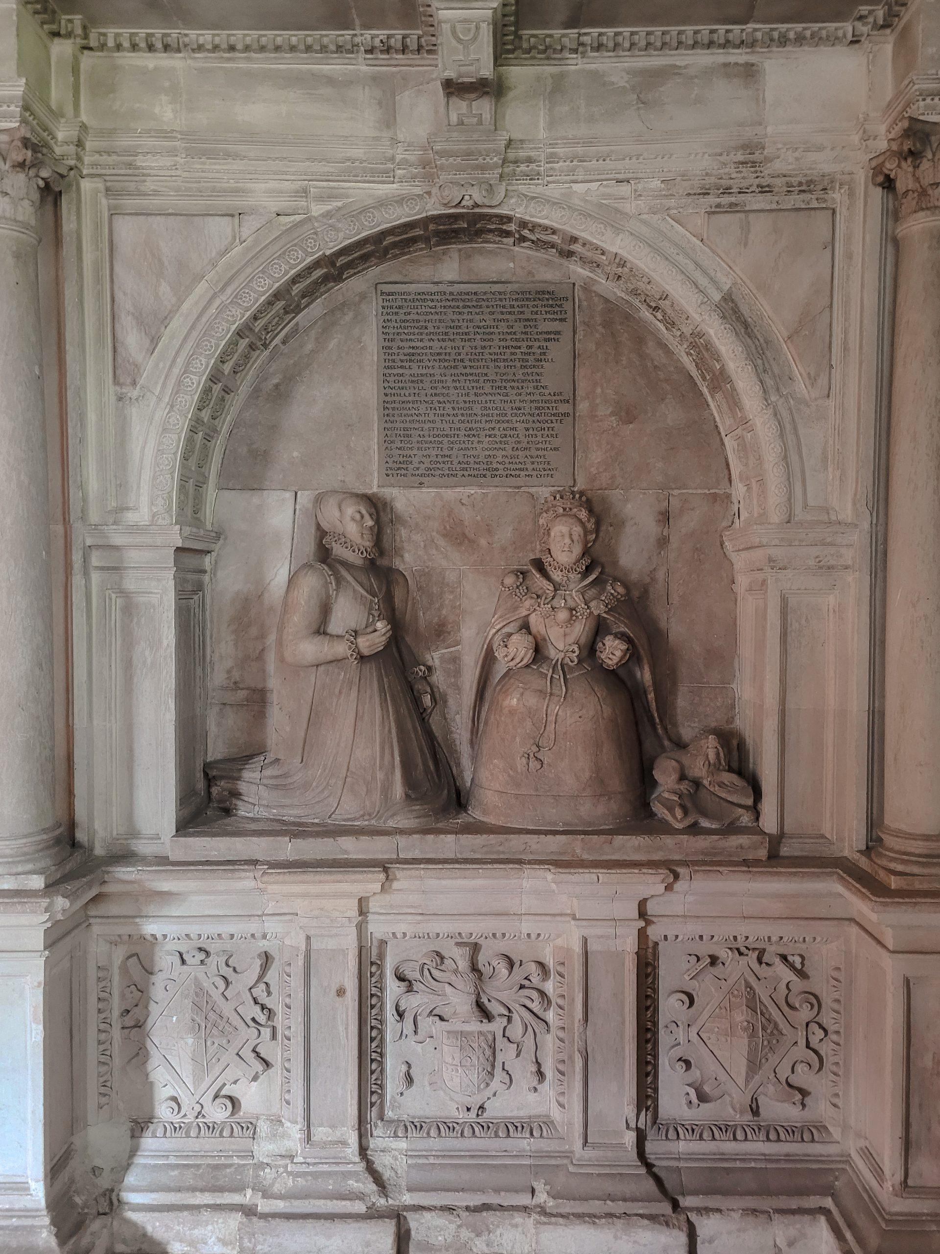St Faiths Bacton Blanche Parry Monument