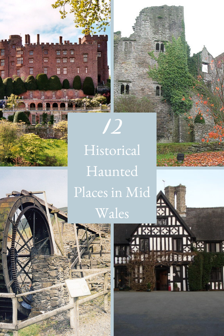 Haunted Places In Mid Wales Pinterest Cover