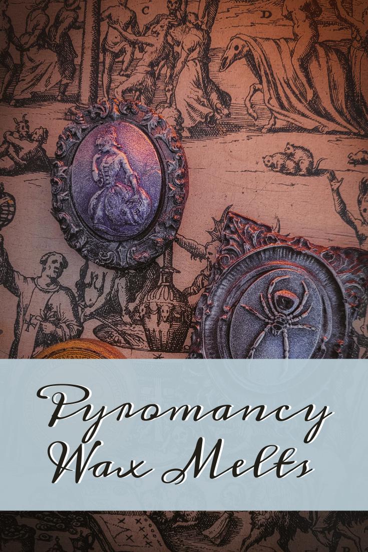 Pyromancy Wax Melts Pinterest Cover